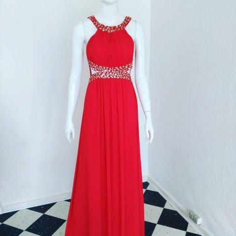 c8e5e9f2e6b8 Flot rød kjole